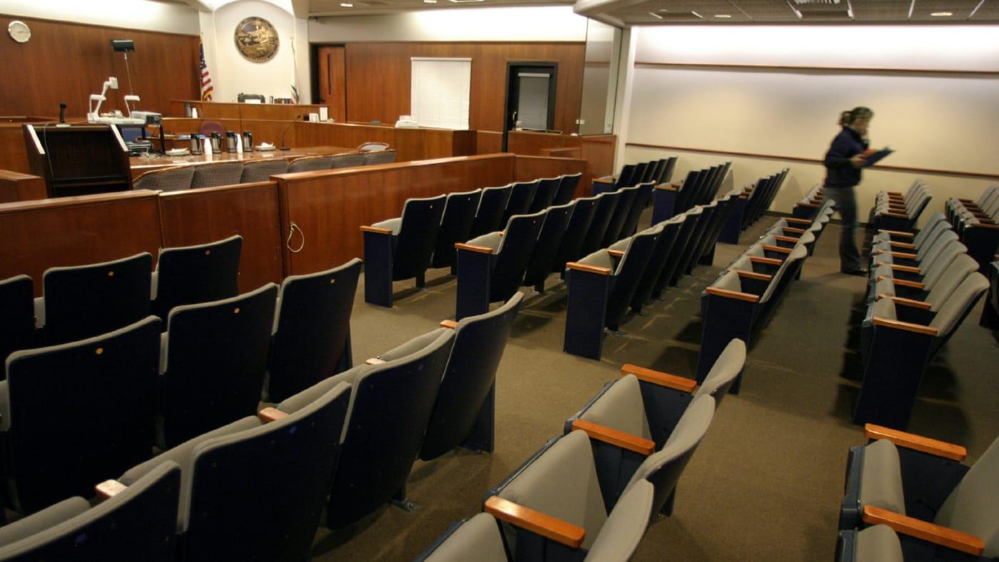courtroom escape