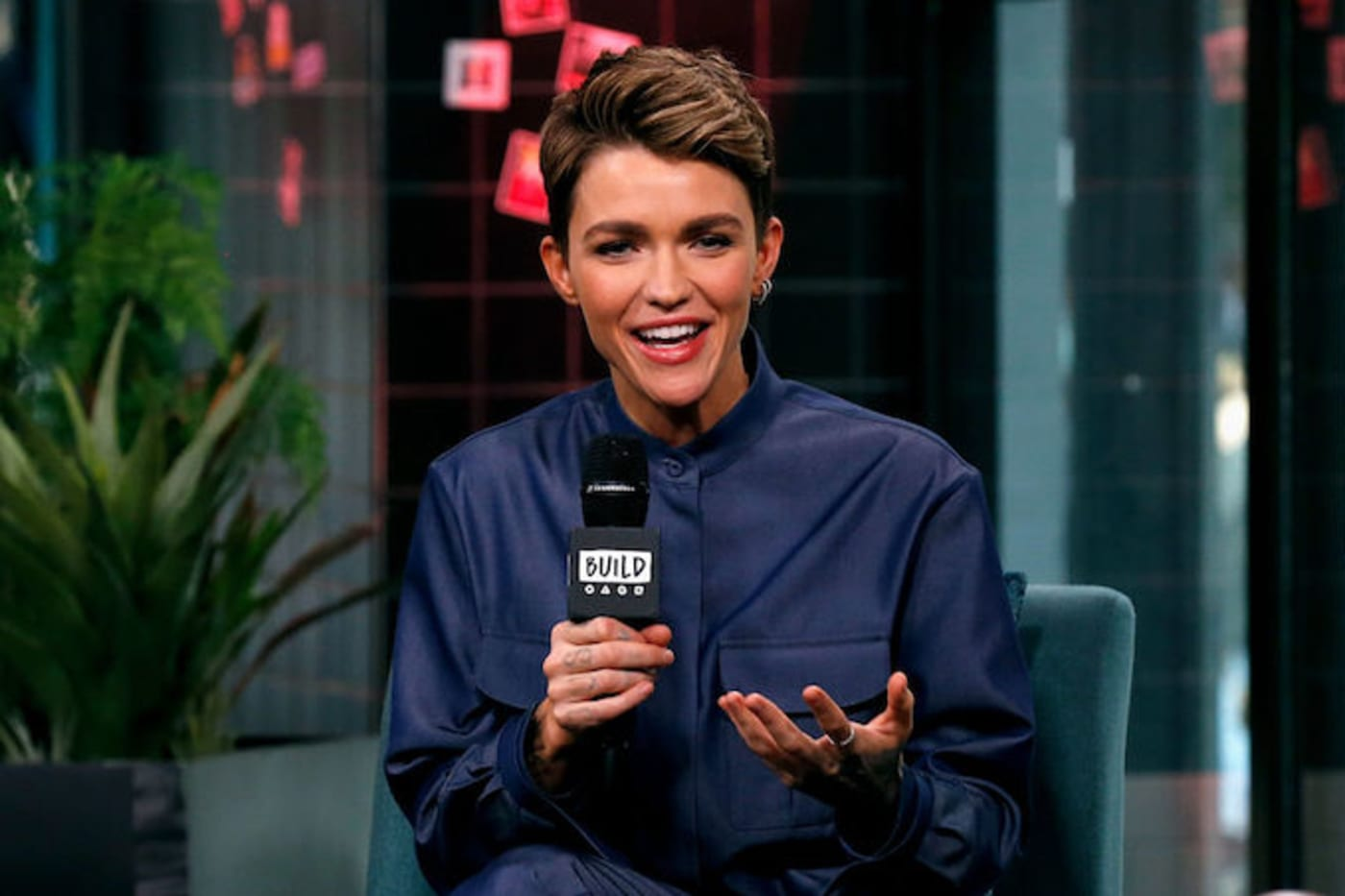 This is a picture of Ruby Rose.