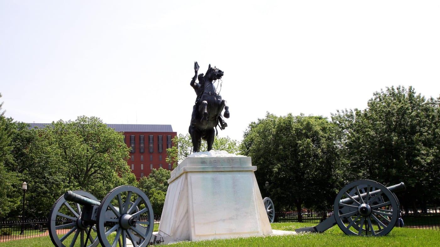 andrew jackson statue dc