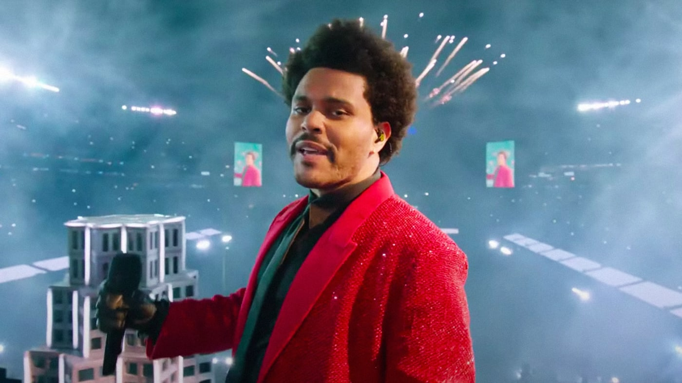The Weeknd Super Bowl performance