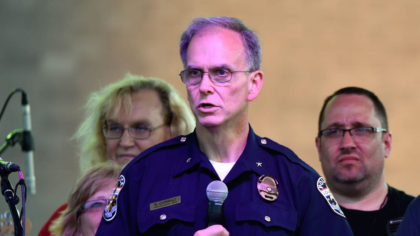 Louisville Police Chief Steve Conrad