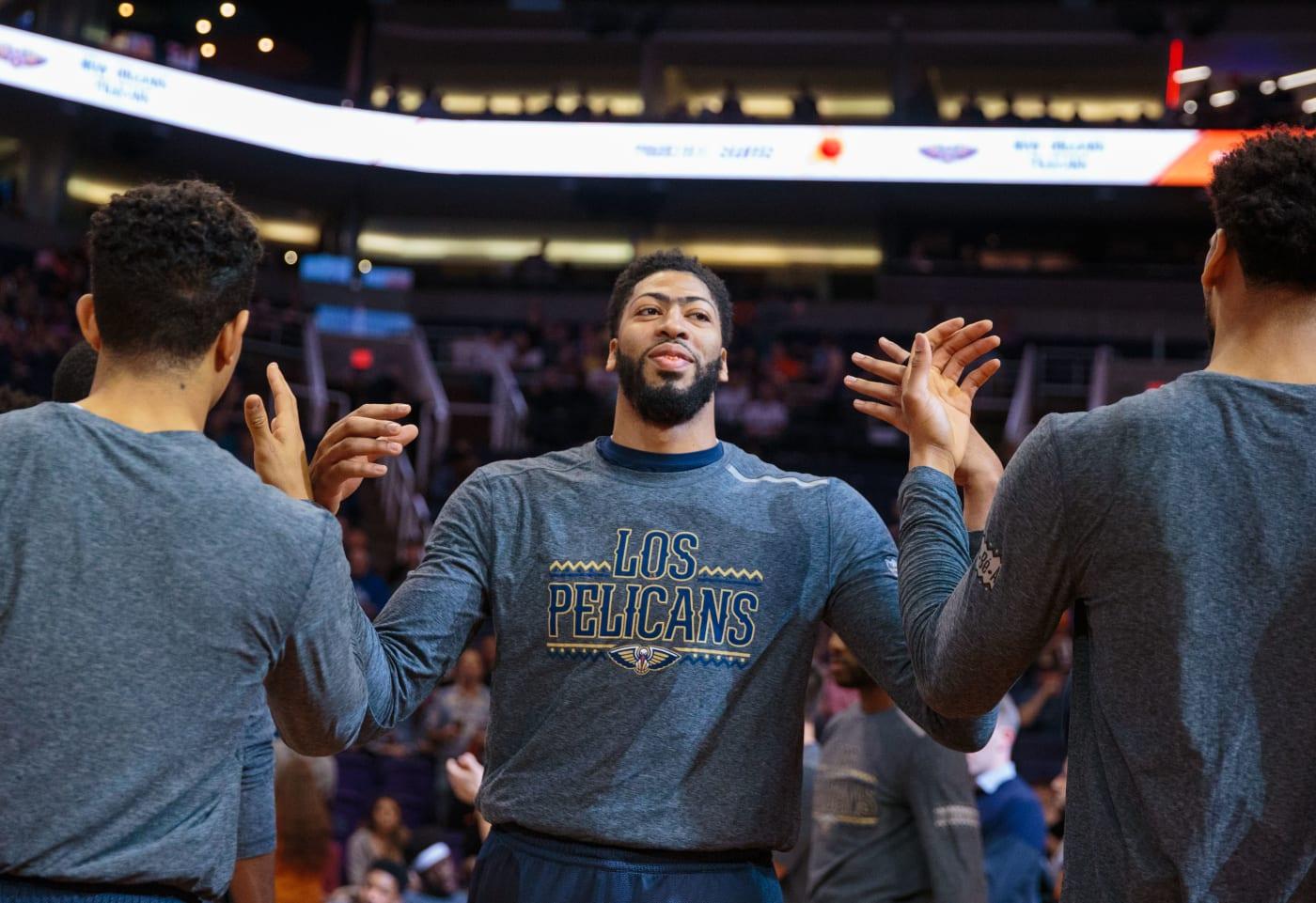 Anthony Davis Pelicans Suns 2019