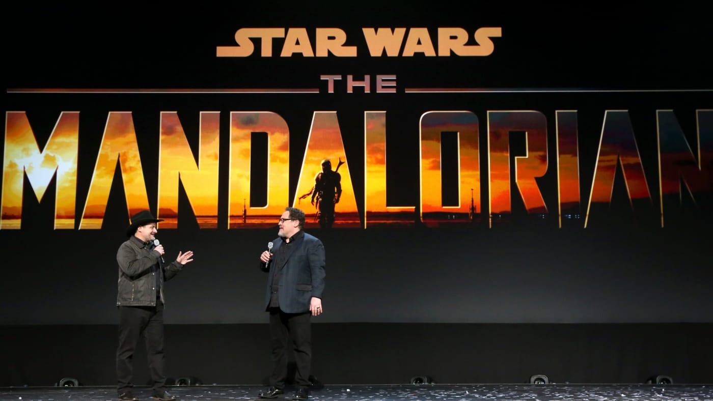 Dave Filoni and Jon Favreau of 'The Mandalorian' took part today in the Disney+ Showcase at Disney's D23 EXPO 2019.