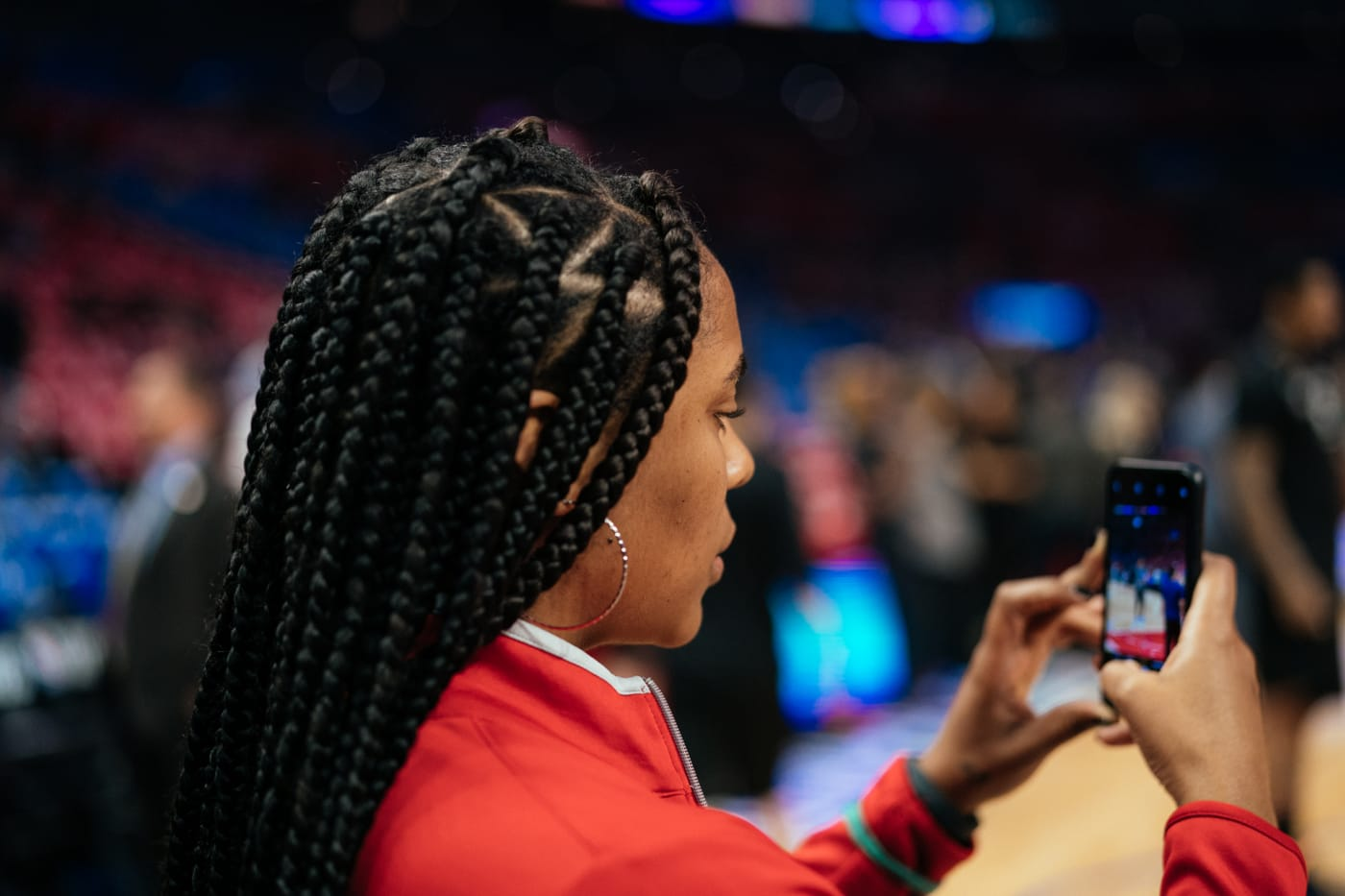Paula Hughes LA Clippers 2019