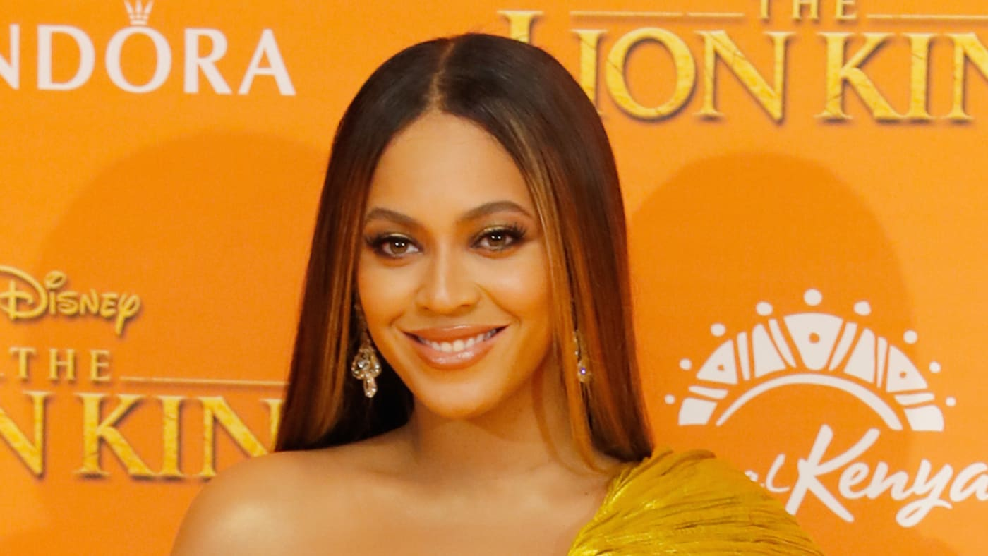 """Beyonce Knowles Carter attends the European Premiere of """"The Lion King"""""""