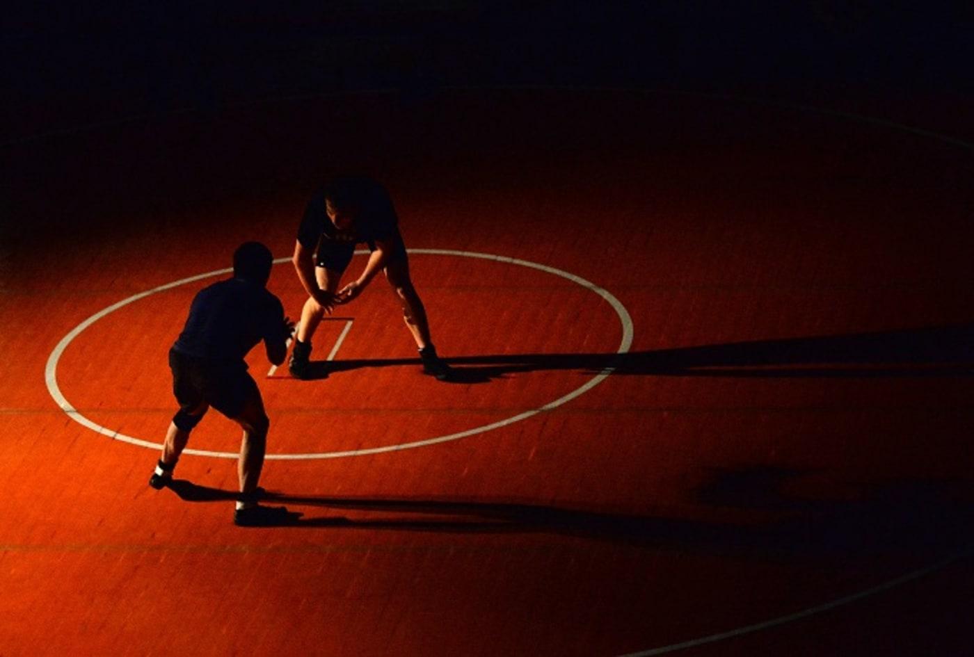 wrestling dreadlocks