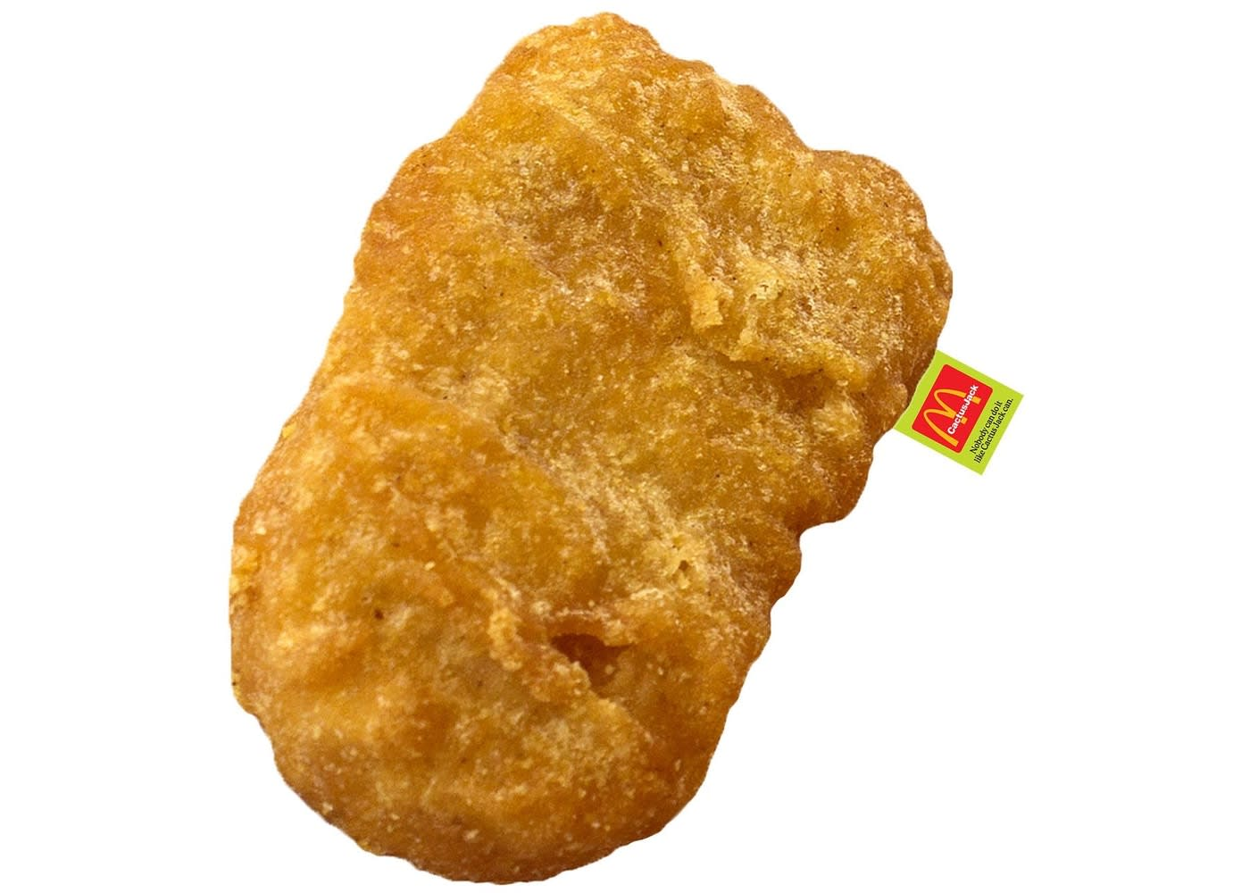Travis Scott x McDonald's McNugget Body Pillow
