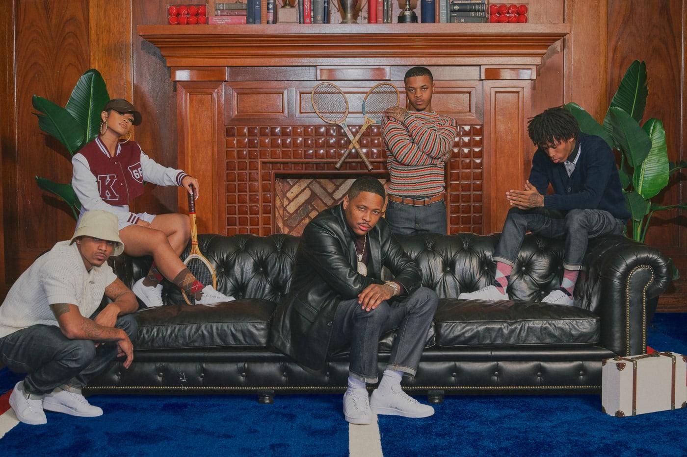 YG x K Swiss Compton Country Club Lead