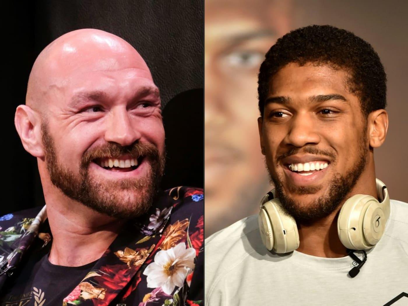 Tyson Fury Anthony Joshua Getty Images 2020