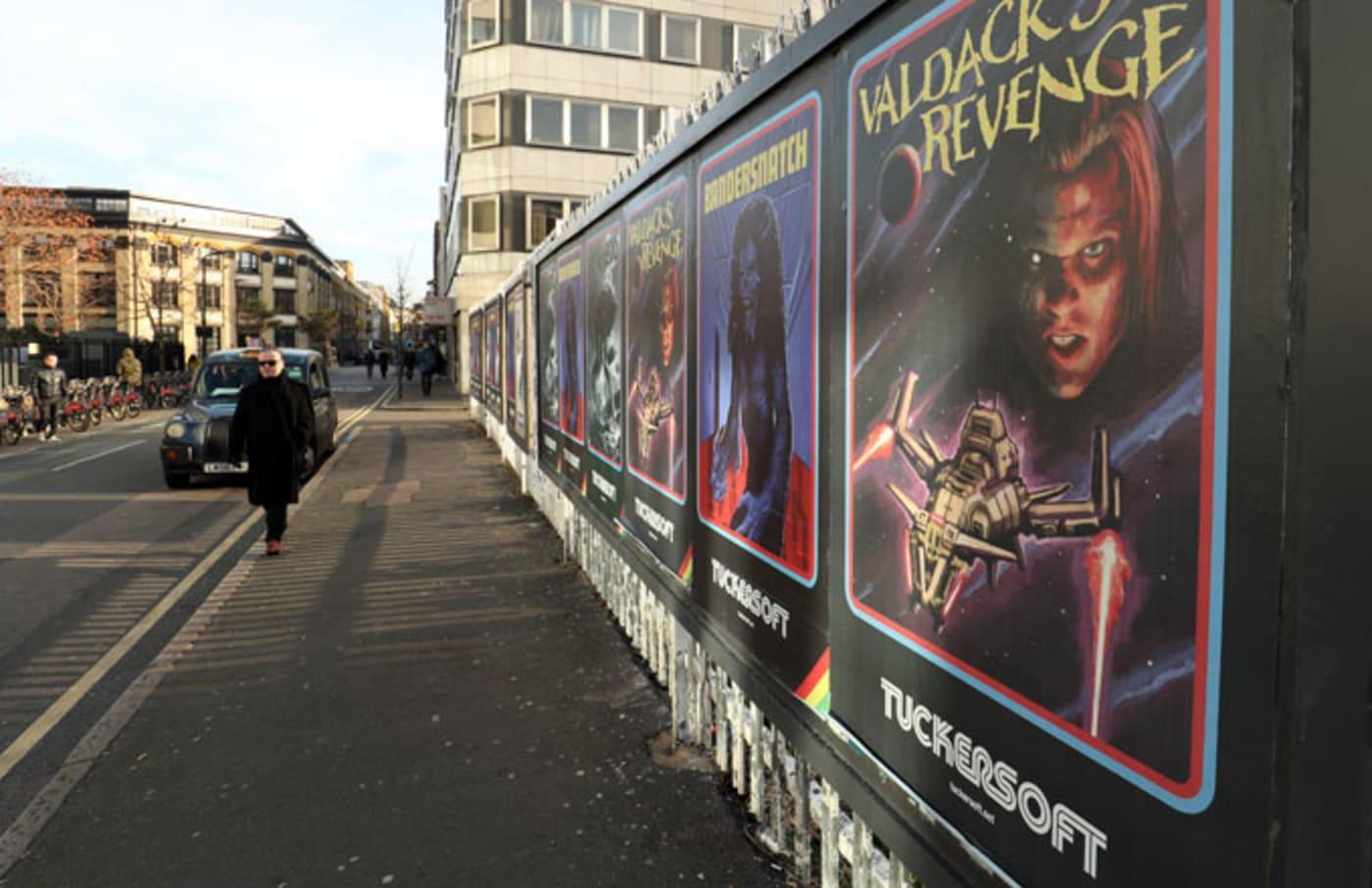A 'Black Mirror: Bandersnatch' pop up shop.