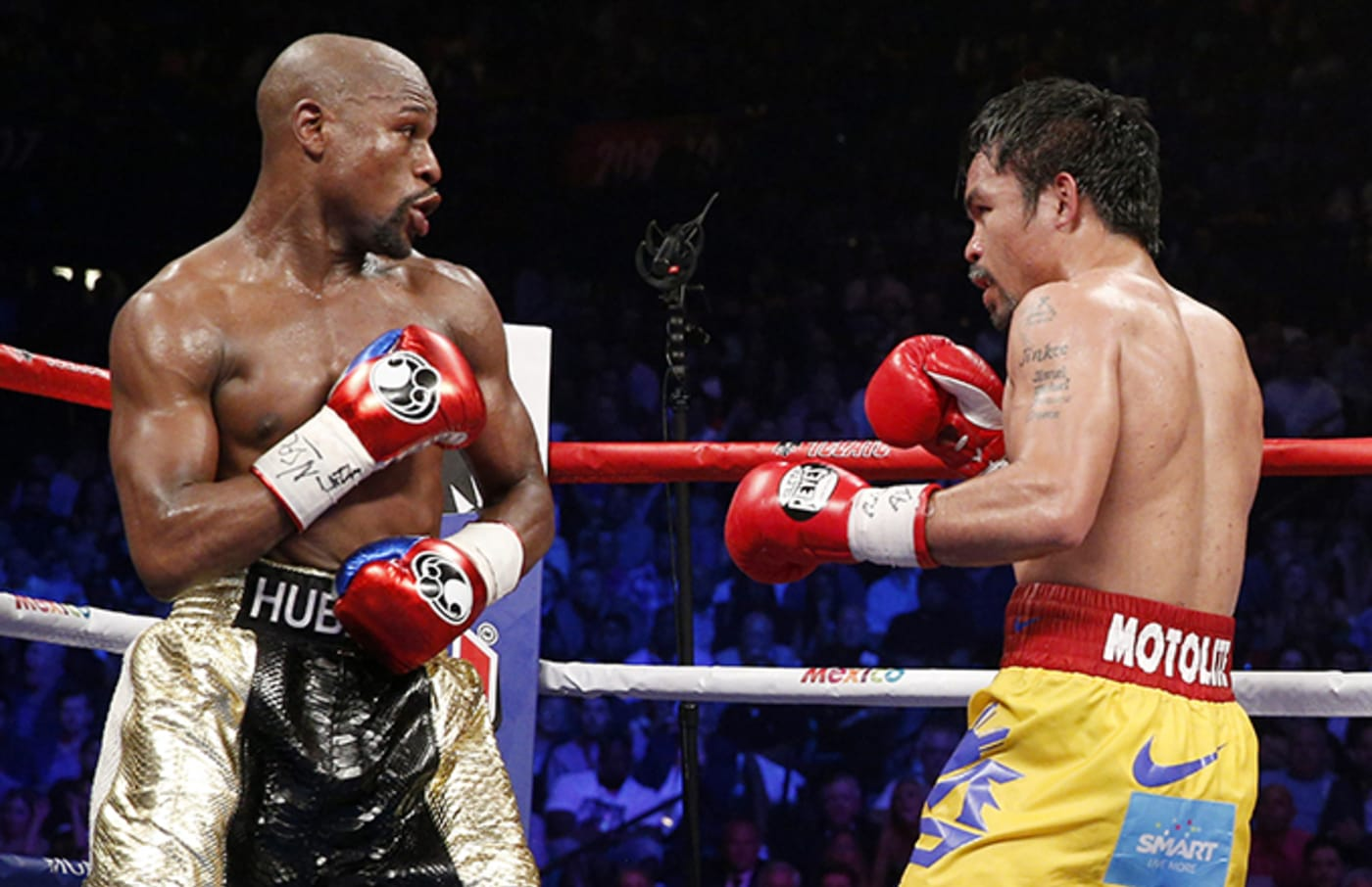 This is a photo of Mayweather.