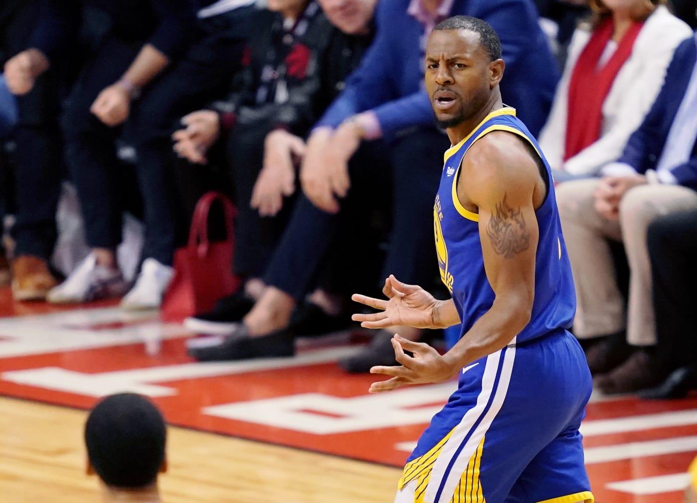 Andre Iguodala Game 2 NBA Finals 2019