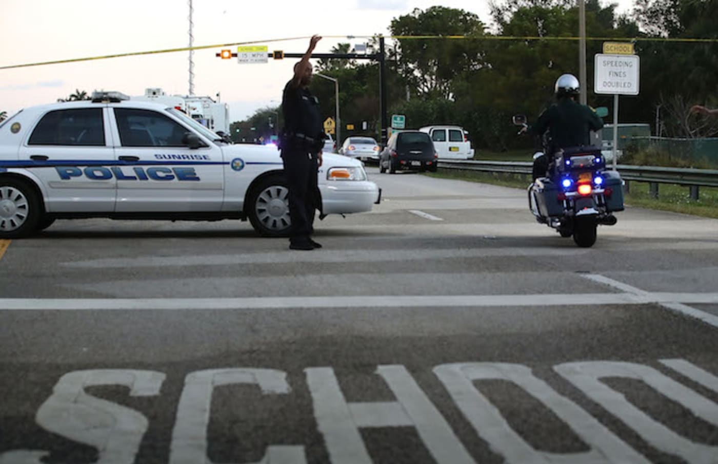 Police in Parkland Florida