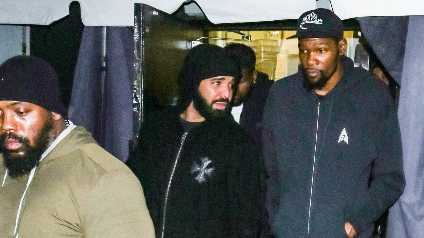 Drake is seen on March 10, 2020 in Los Angeles, California