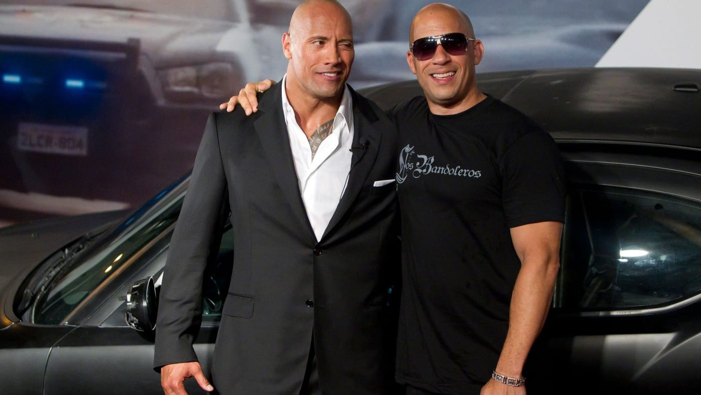 vin and the rock