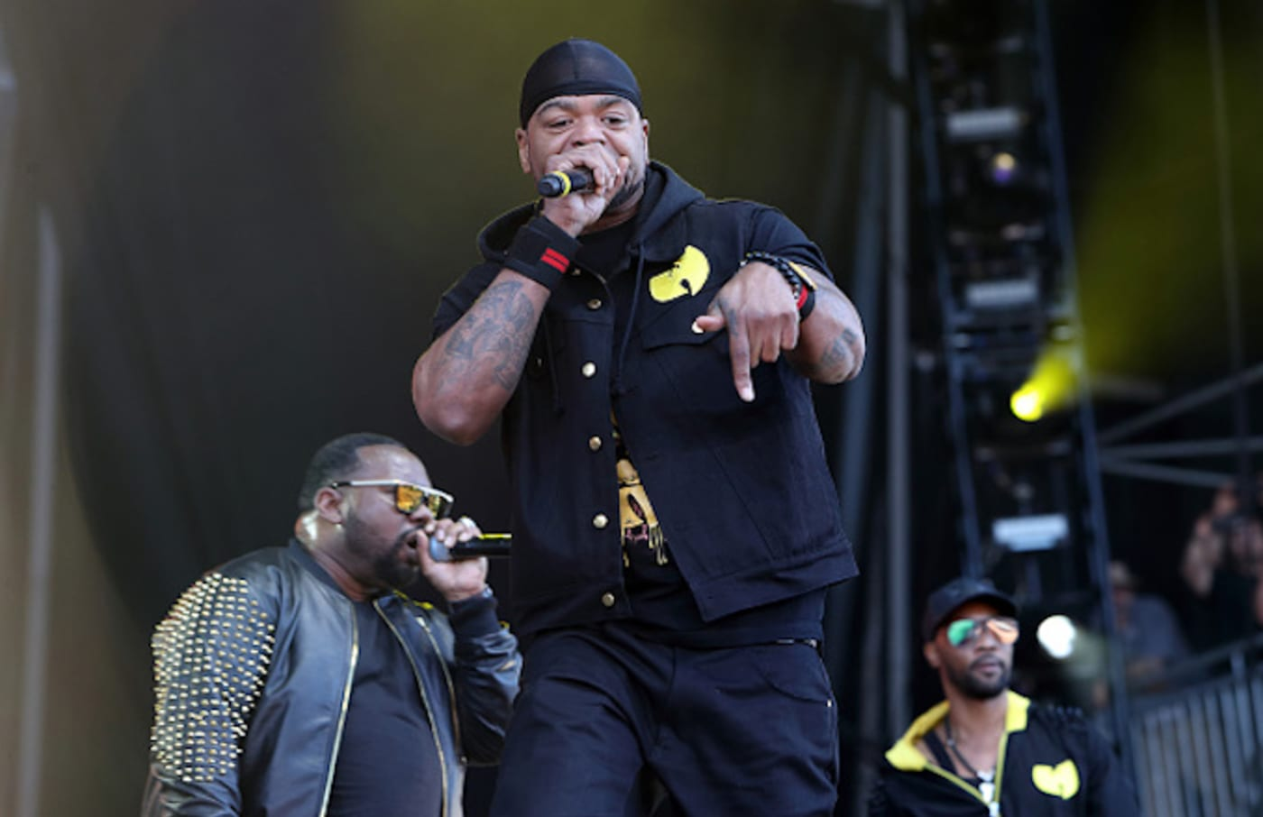 Method Man of Wu Tang Clan performs on day 2 of the Governors Ball