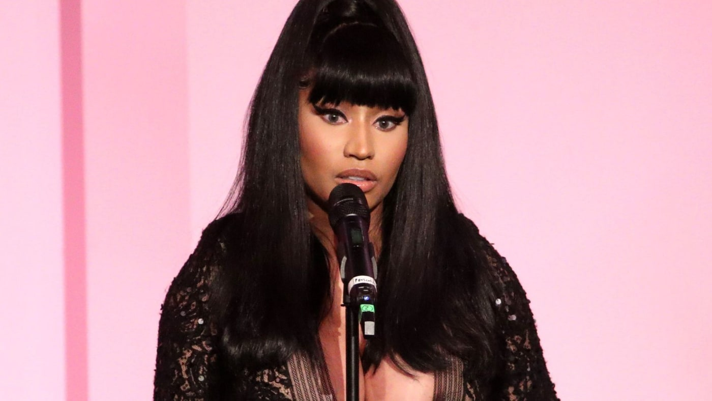 Nicki Minaj at the Billboard Women In Music 2019