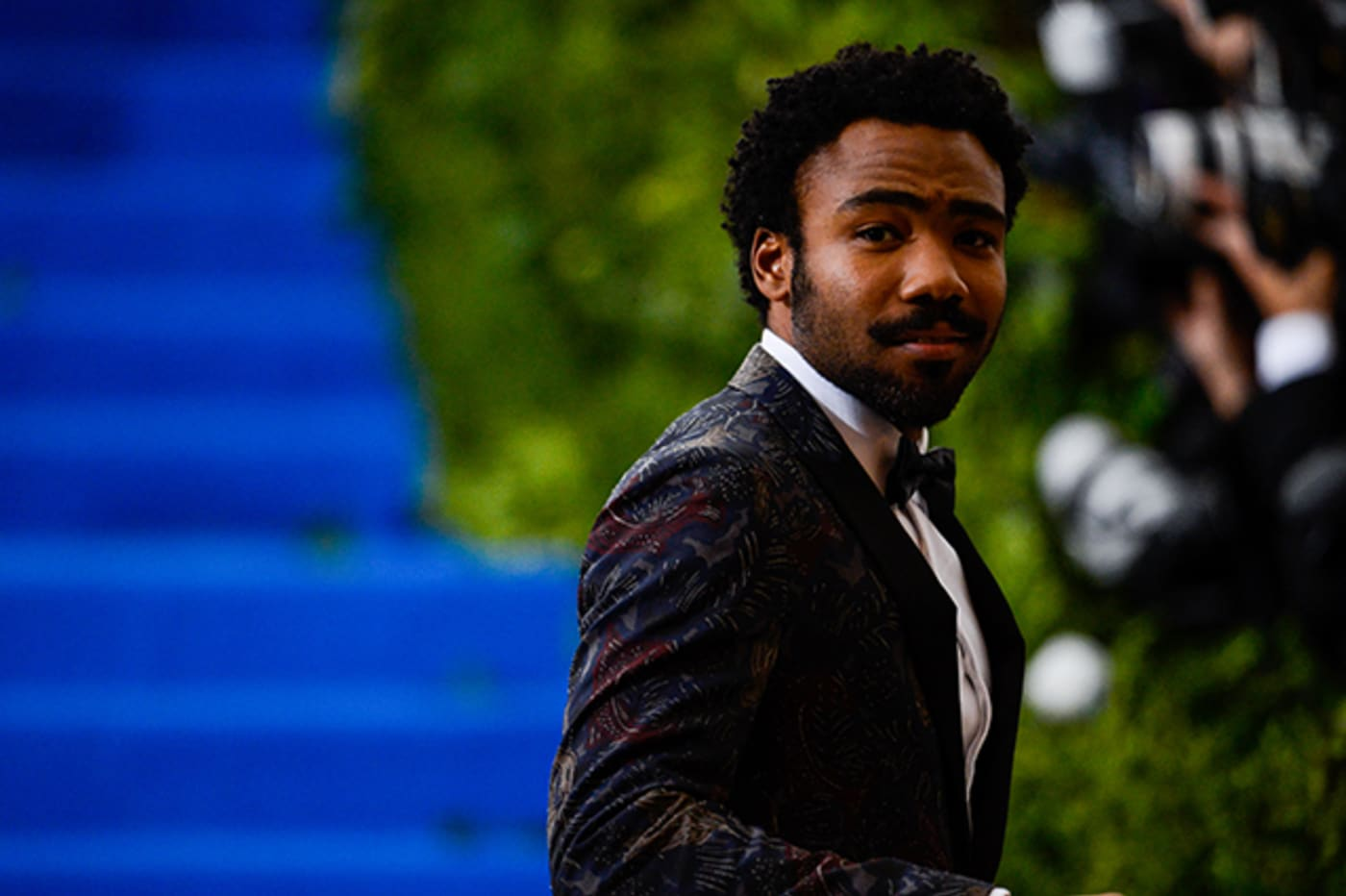Donald Glover at the 2017 Met Gala