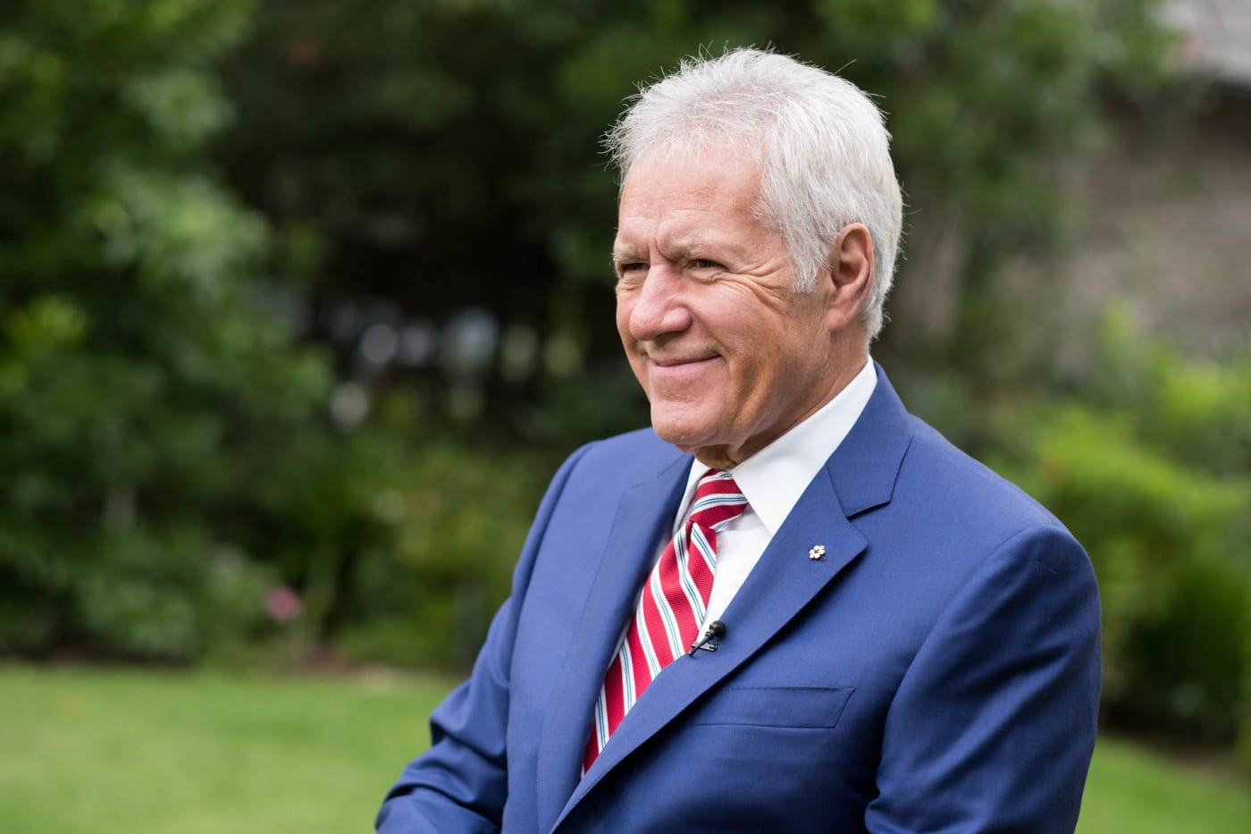 Alex Trebek attends 150th anniversary of Canada's Confederation at the Official Residence of Canada.