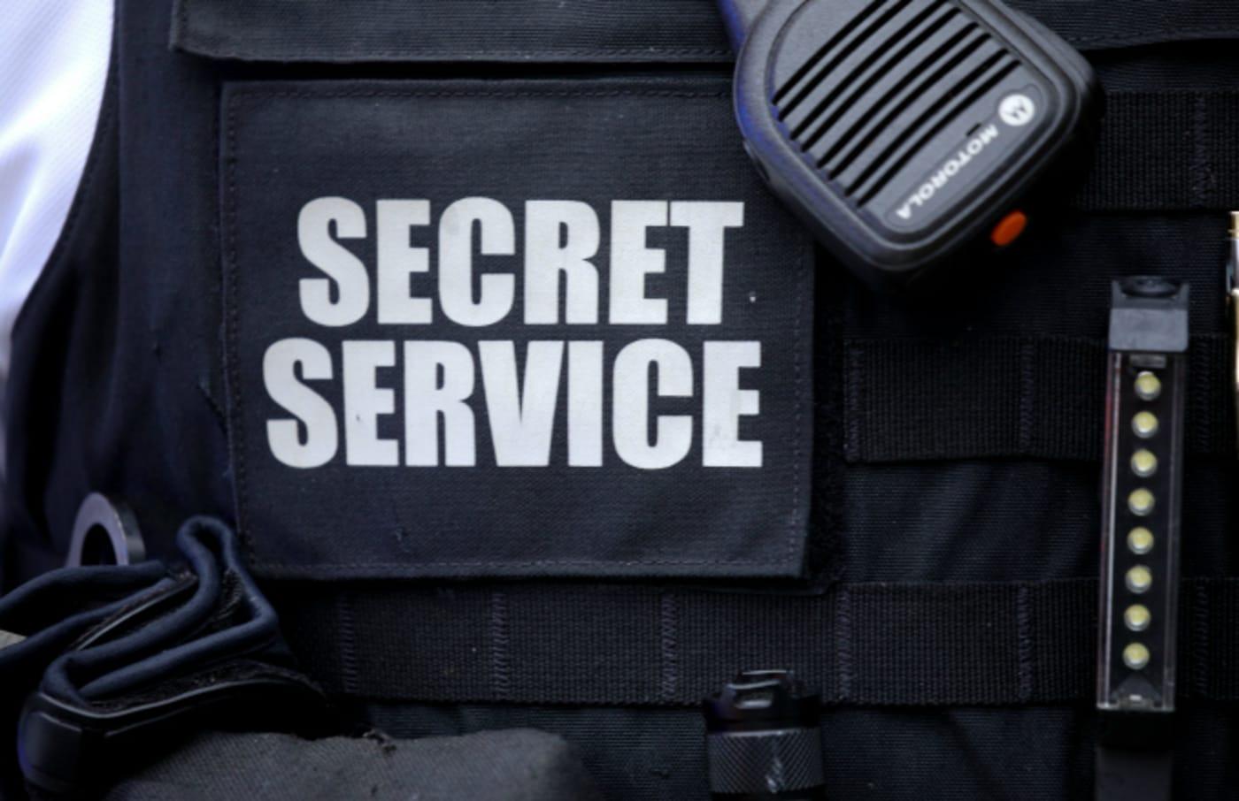 Secret Service Uniformed Division personnel take measures