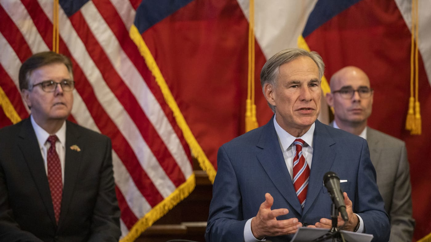 Texas Governor Greg Abbott announces more reopenings.