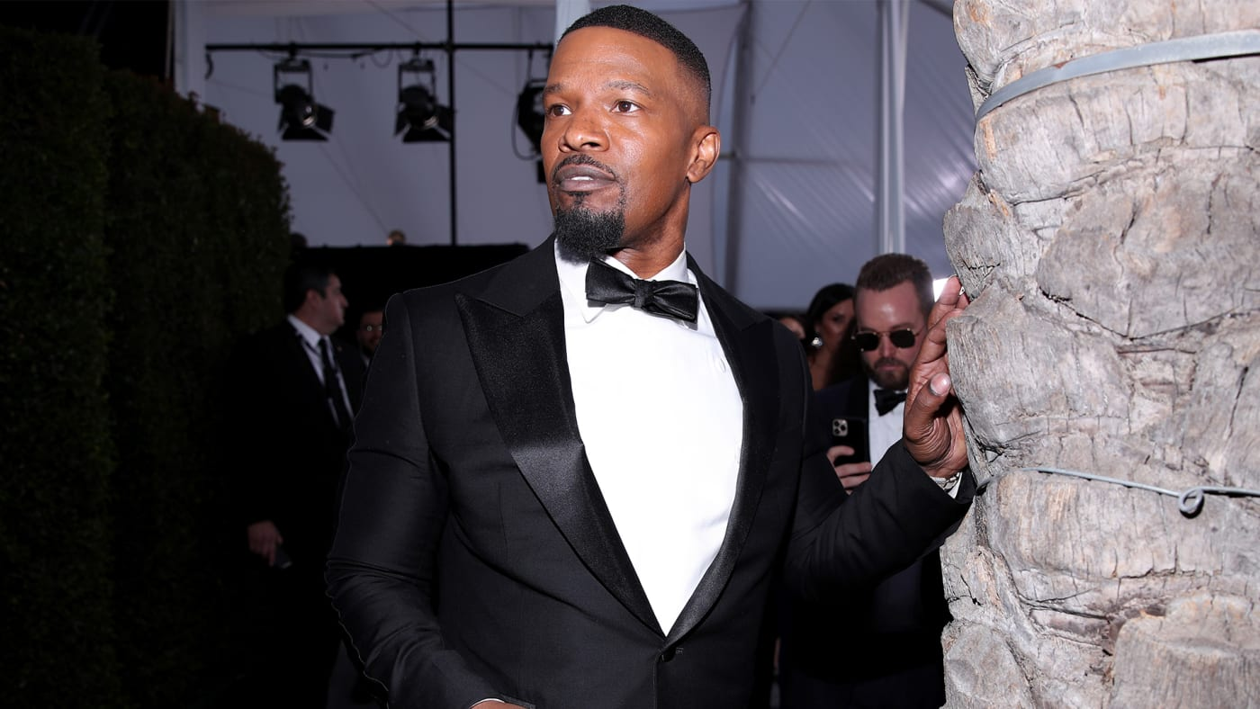 This is a photo of Jamie Foxx