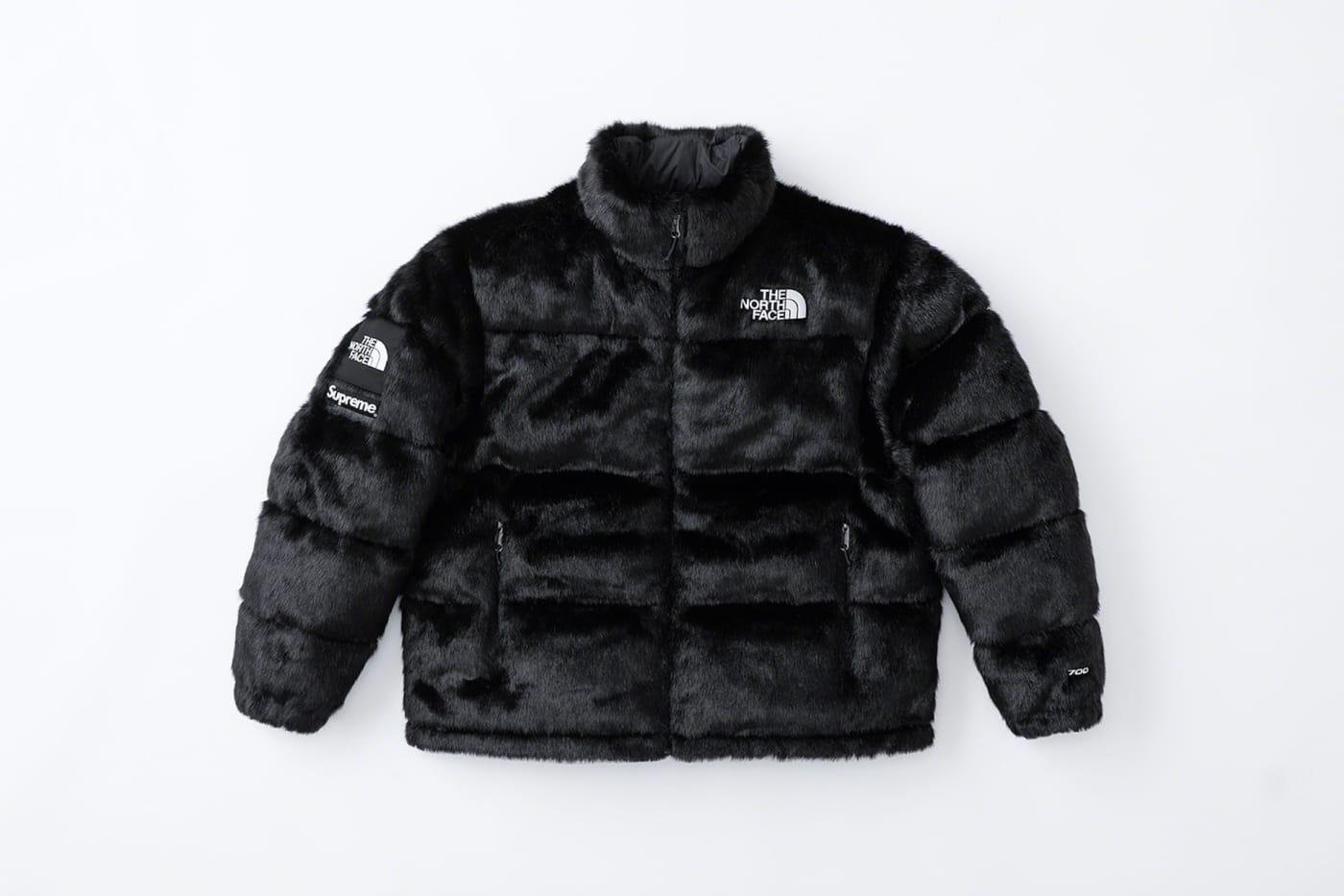 Supreme Faux Fur North Face