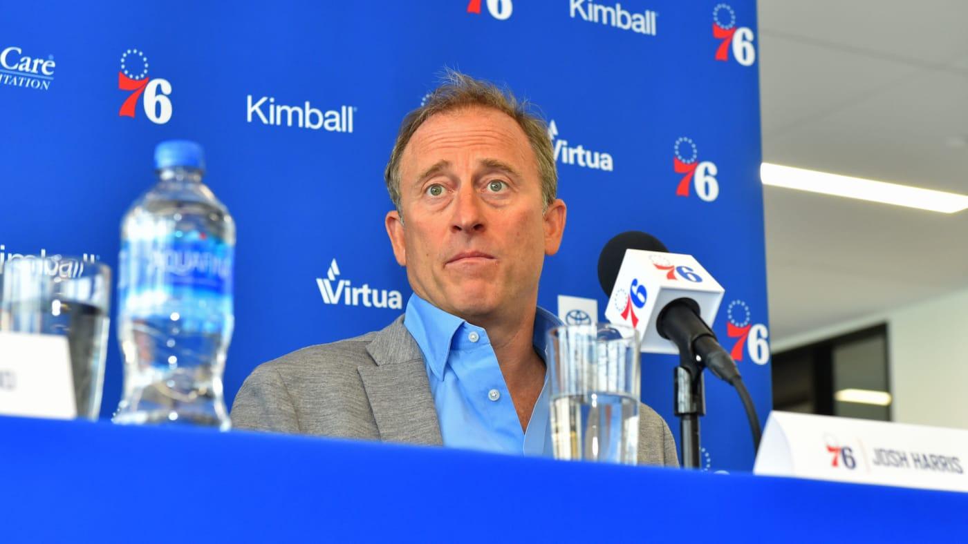 Josh Harris, owner of the Philadelphia 76ers