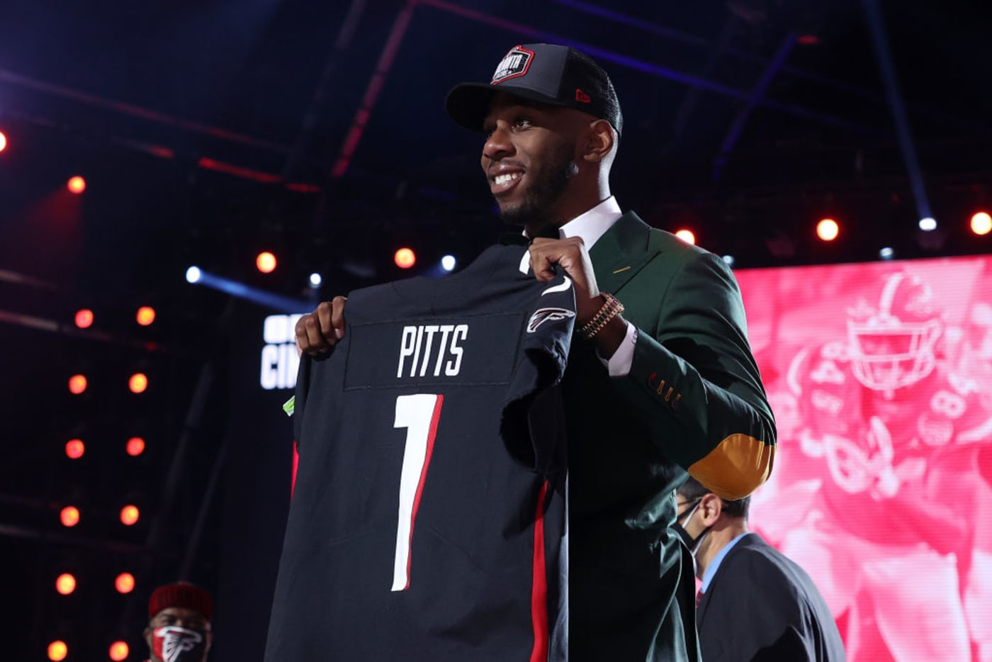 Kyle Pitts Jersey Draft Stage 2021