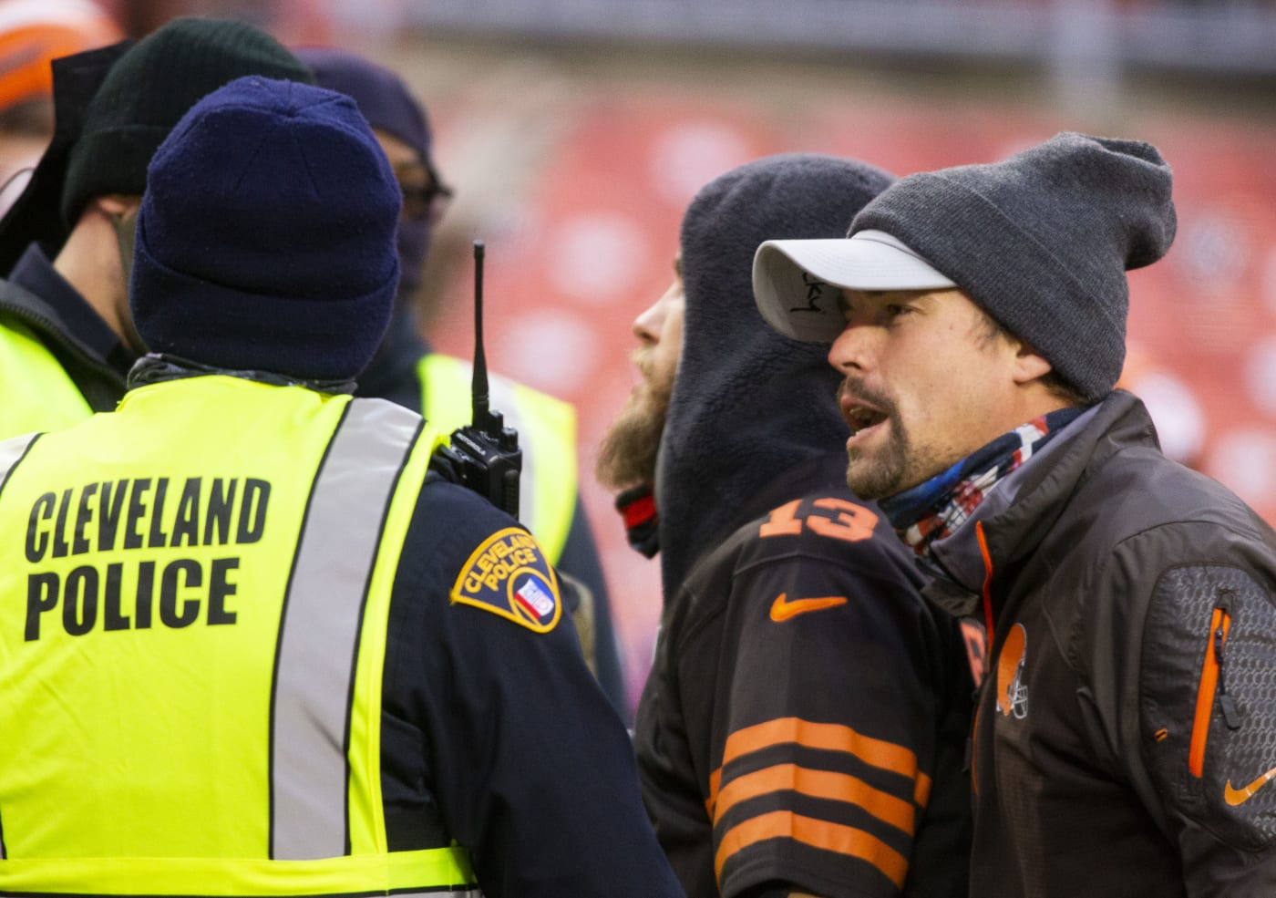 Fans Ejected Cleveland Browns 2020