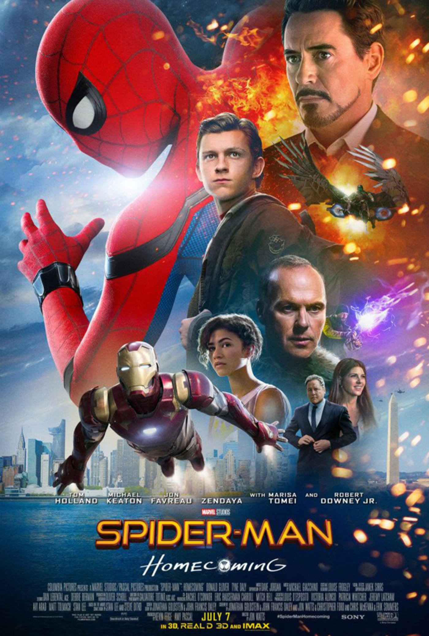 'Spider Man: Homecoming' poster