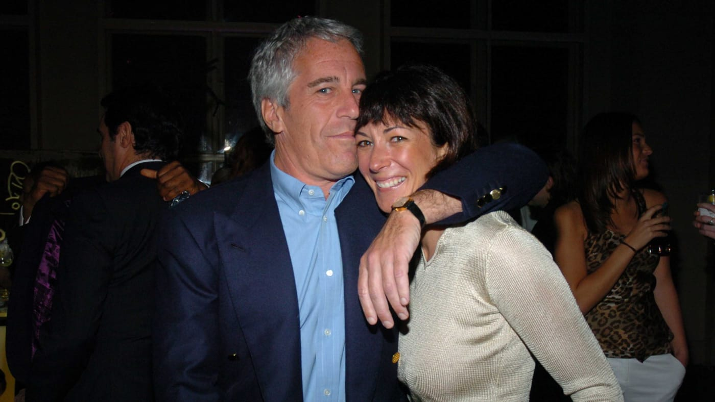 Jeffrey Epstein and Ghislaine Maxwell attend 2005 Wall Street Concert Series.