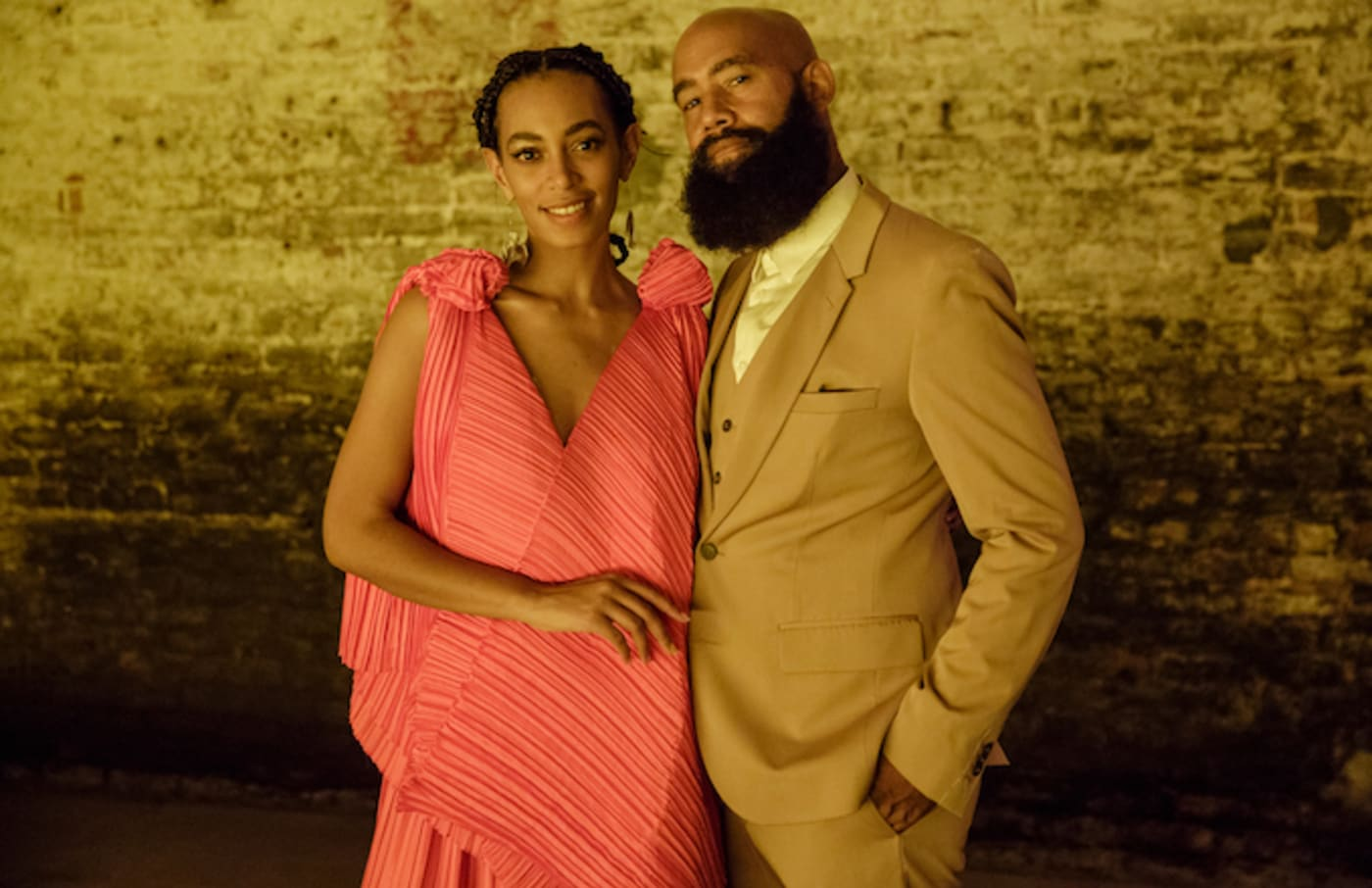 Solange Knowles and Alan Ferguson attend A Seat At The Table.