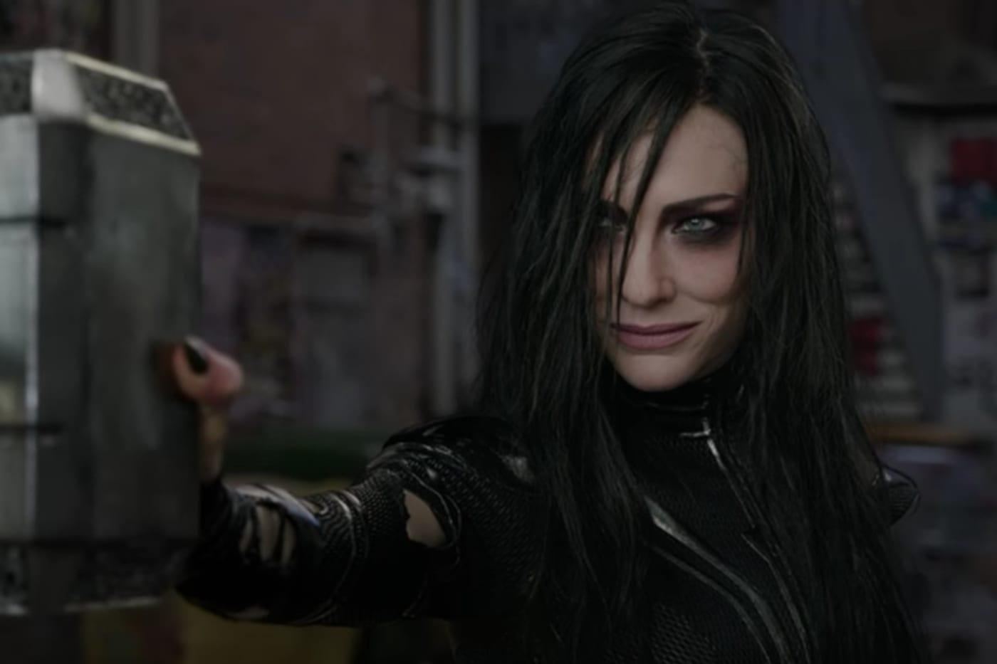 Cate Blanchett as Hela in 'Thor: Ragnarok'