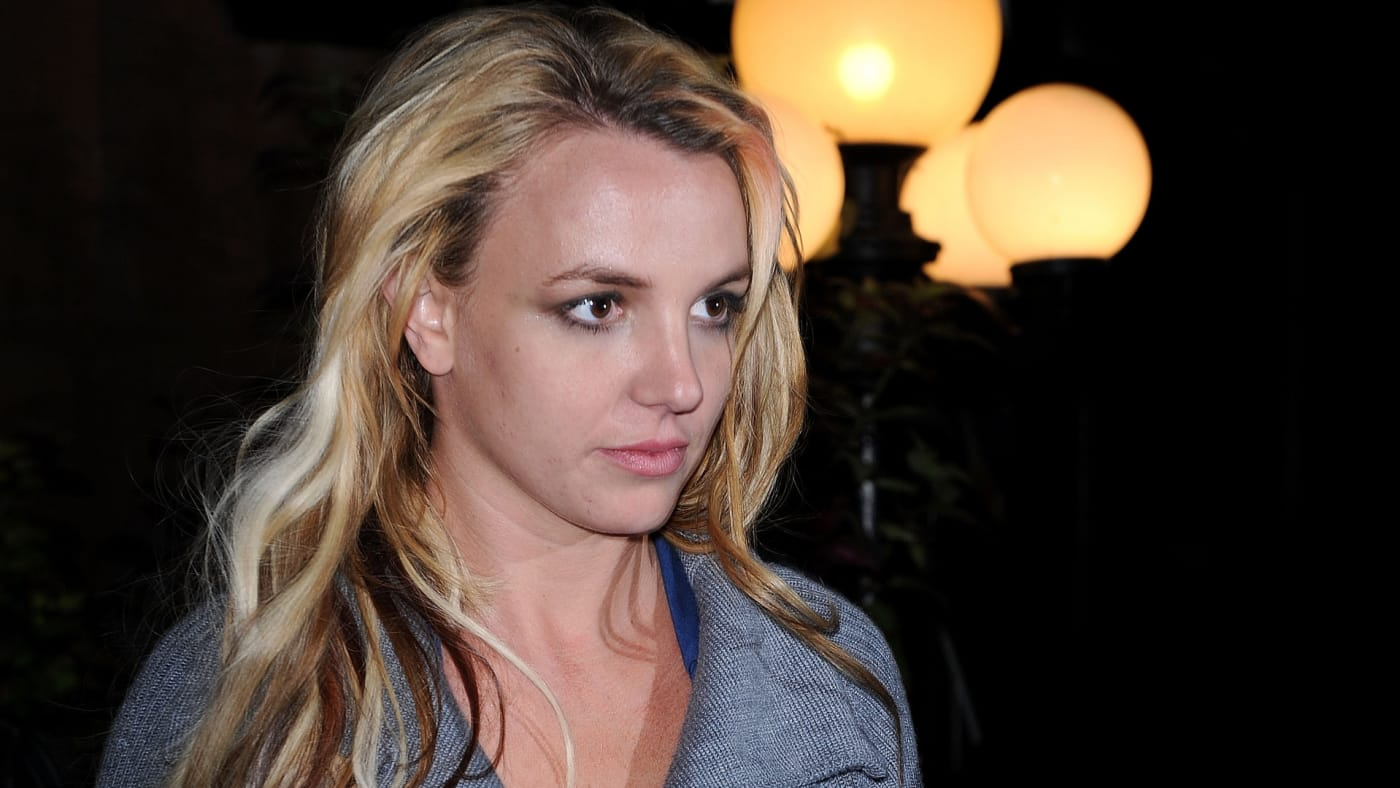 Britney Spears seen on the streets of Manhattan.