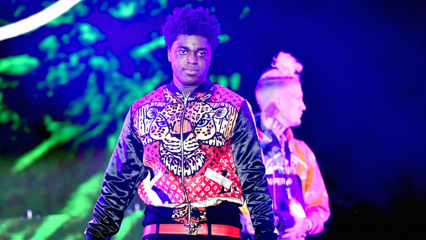 Rapper Kodak Black performs onstage