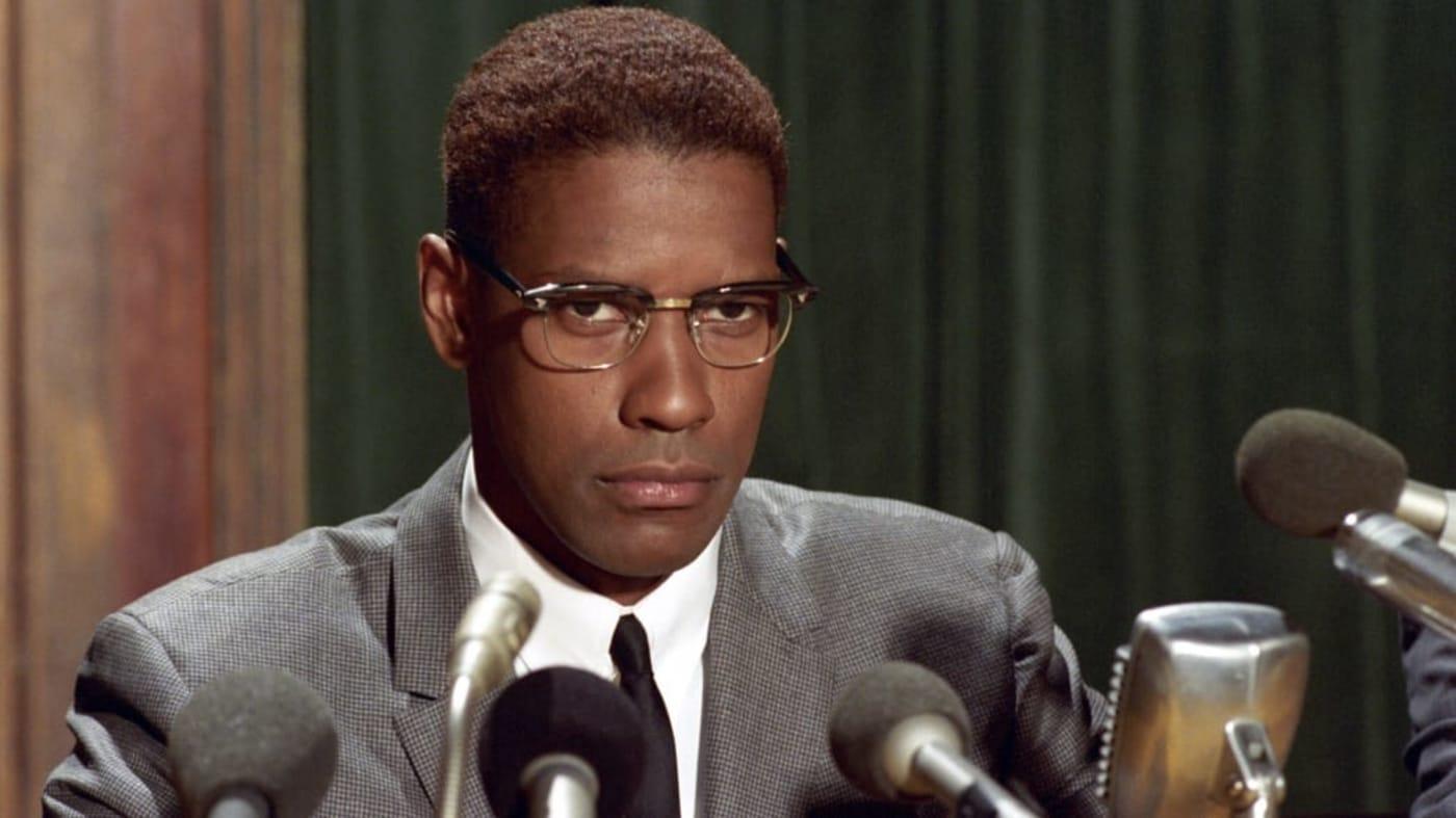Denzel Washington in 'Malcolm X' (1992)