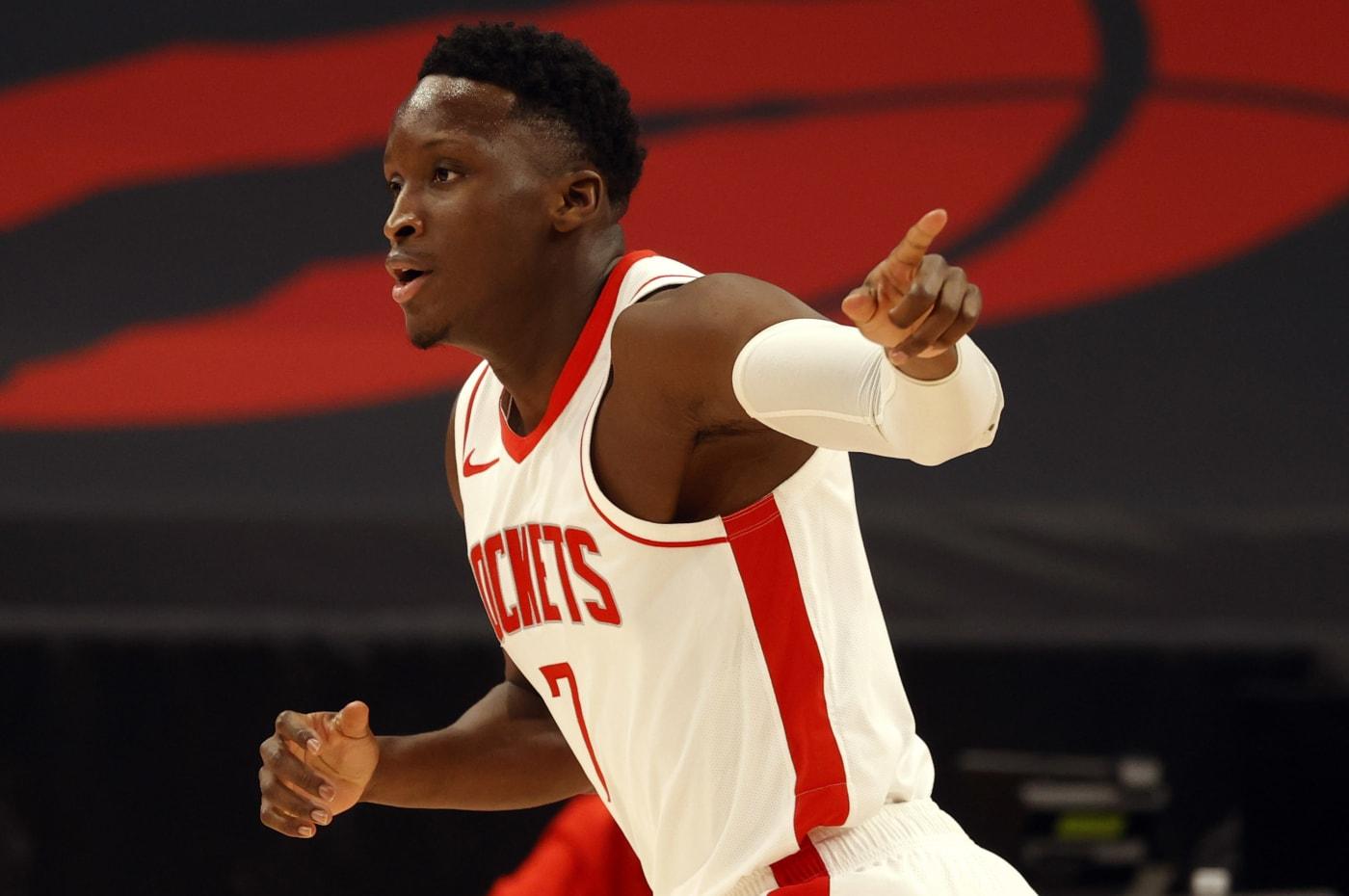 Victor Oladipo Rockets Raptors 2021