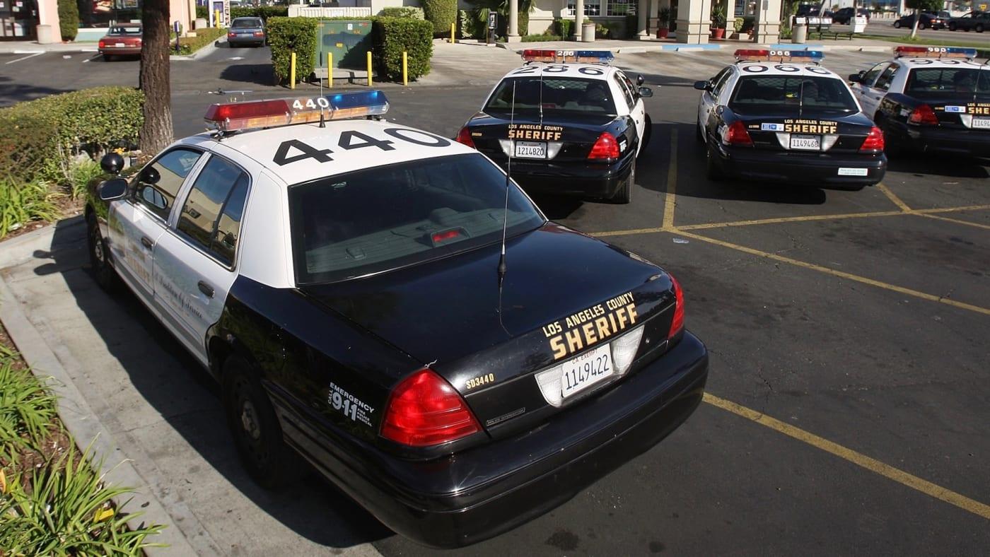 LA County Sheriffs Car