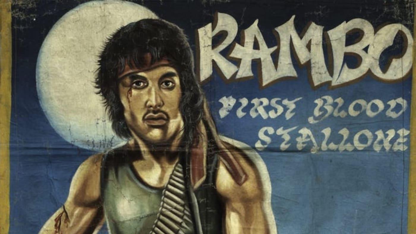 rambo movie poster