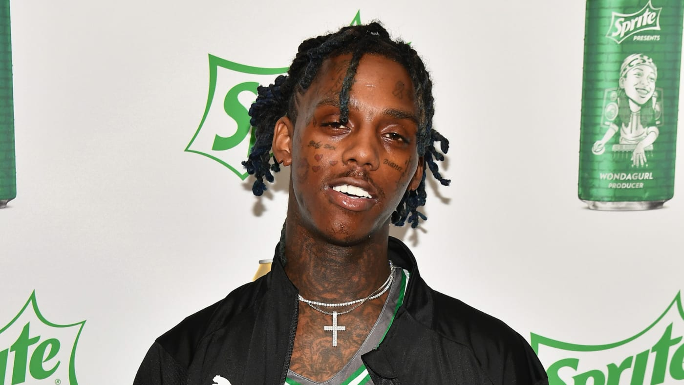 Famous Dex at the Celebrity Basketball Game Sponsored By Sprite.