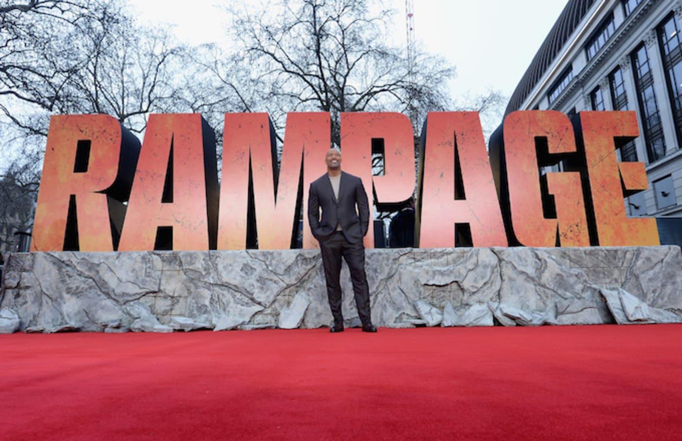 Dwayne Johnson Rampage Rating