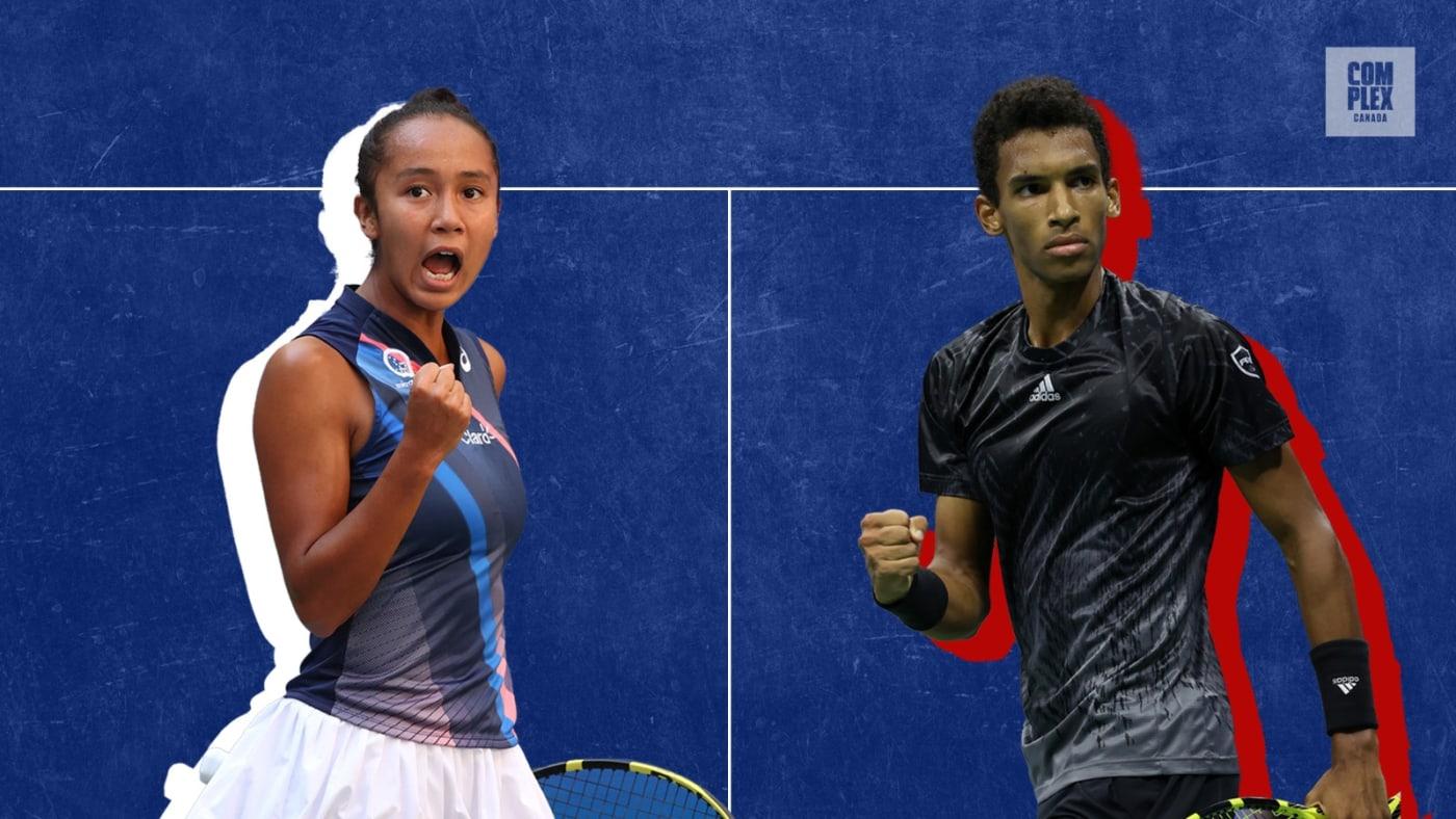 Felix Auger Aliassime and Leylah Fernandez, Canada's new tennis heroes