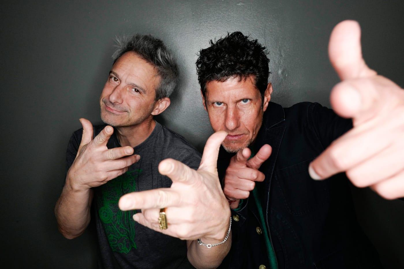 Adam Horovitz and Mike Diamond of the Beastie Boys