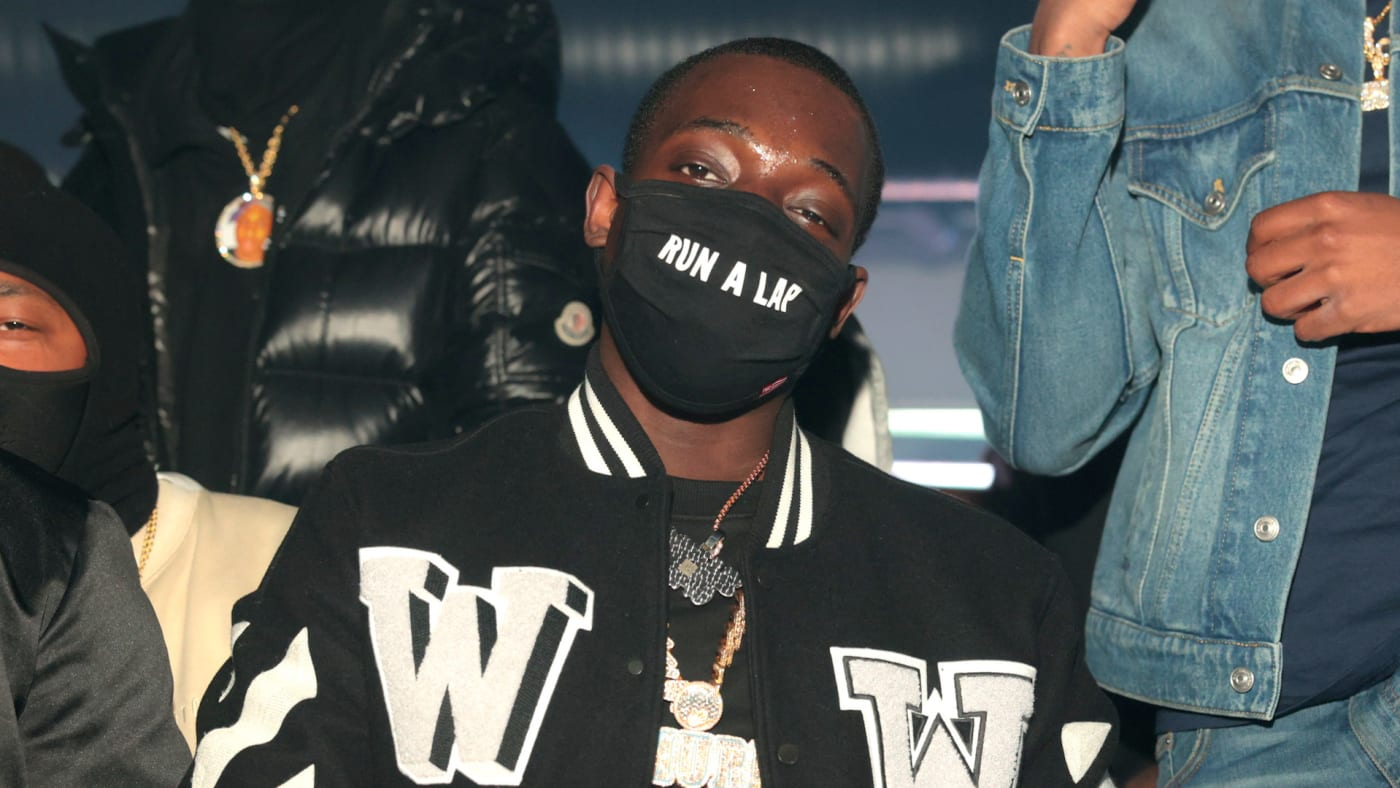 Bobby Shmurda attends a Day Party at Republic Lounge