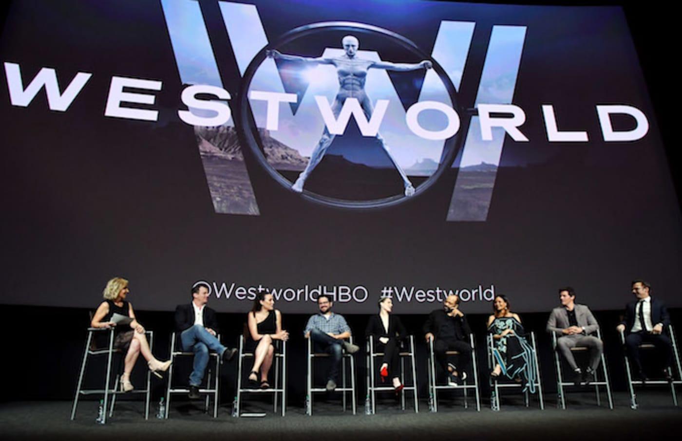 Westworld cast talk.