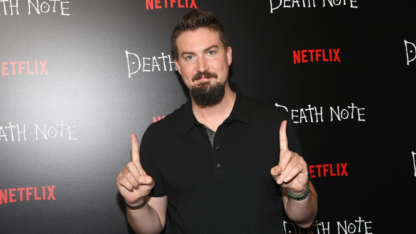 """Adam Wingard attends the """"Death Note' New York premiere."""