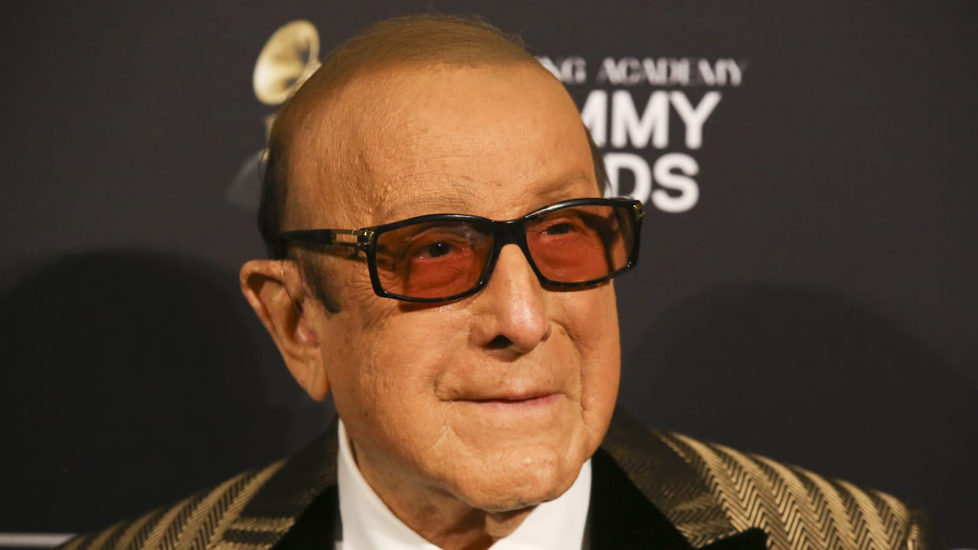 Clive Davis attends the Pre-GRAMMY Gala and GRAMMY Salute