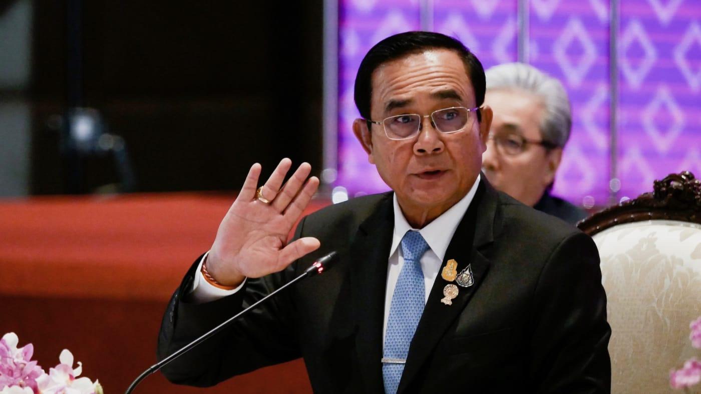 Thailand Prime Minister Prayut Chan o Cha