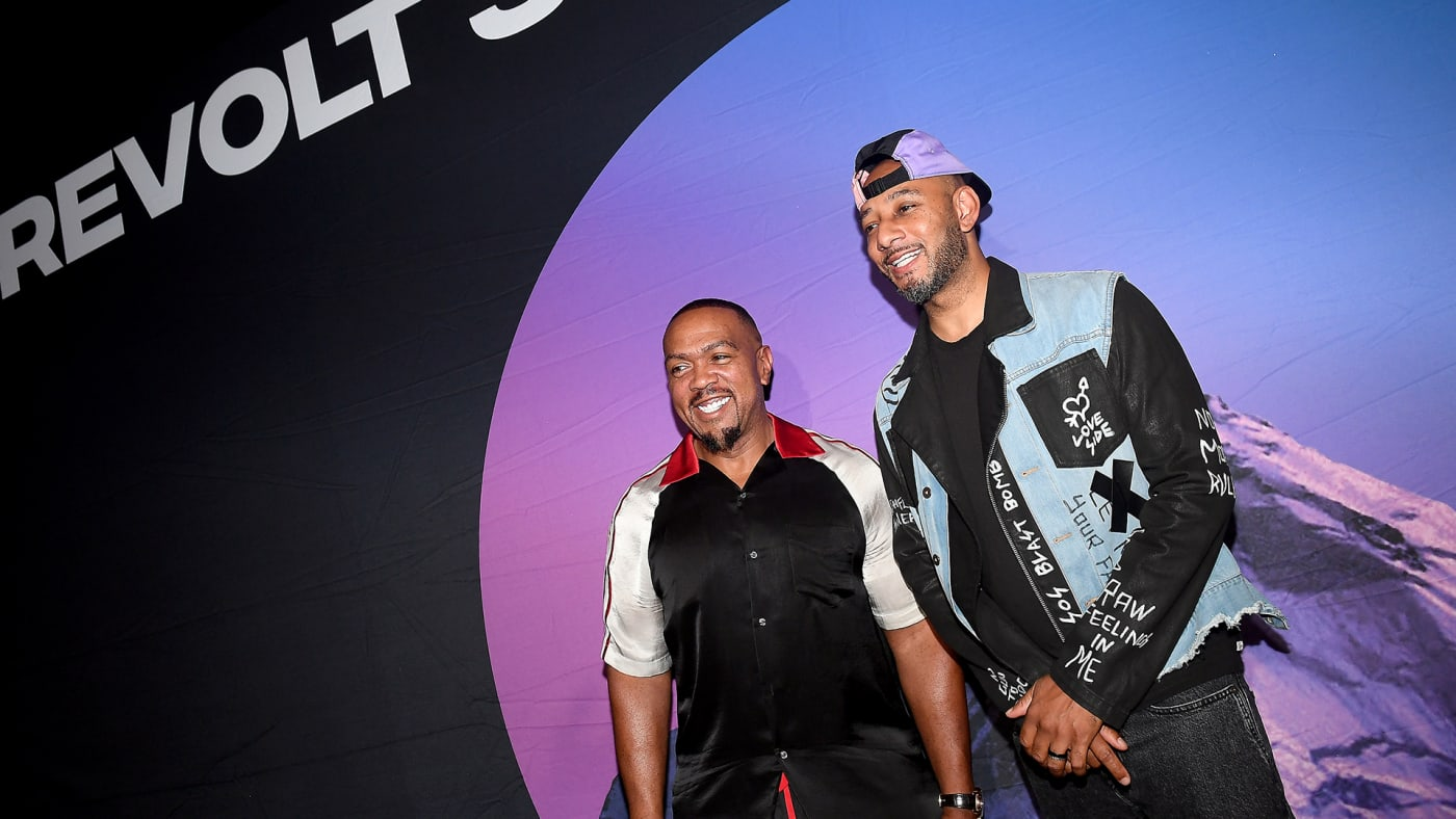 Timbaland and Swizz Beatz